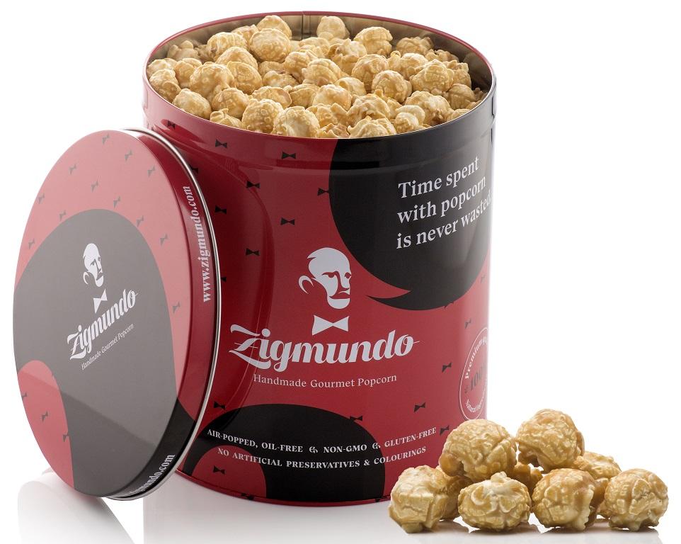 Kbelíky s prémiovým popcornem