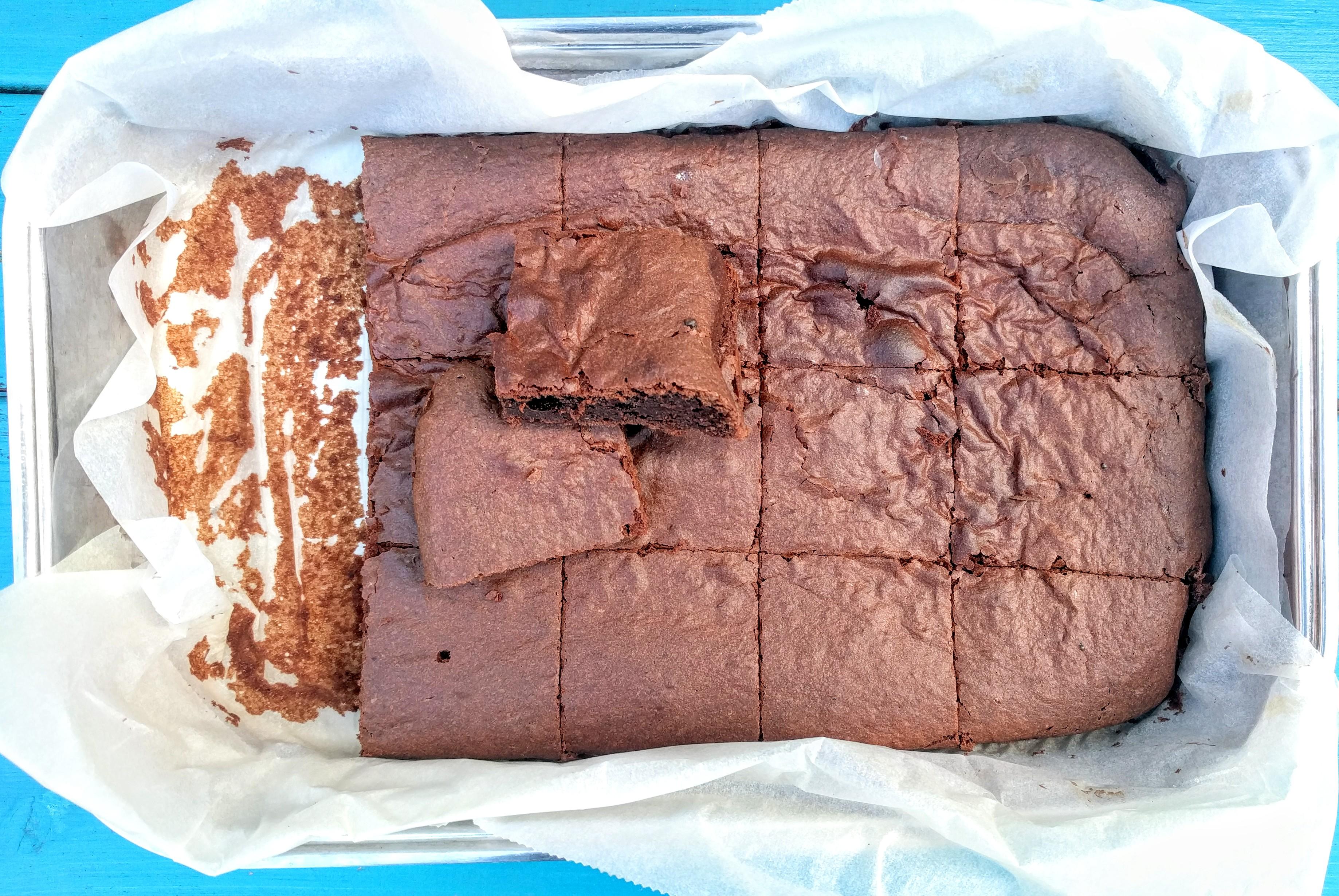Rychlé bezlepkové čokoládové brownies