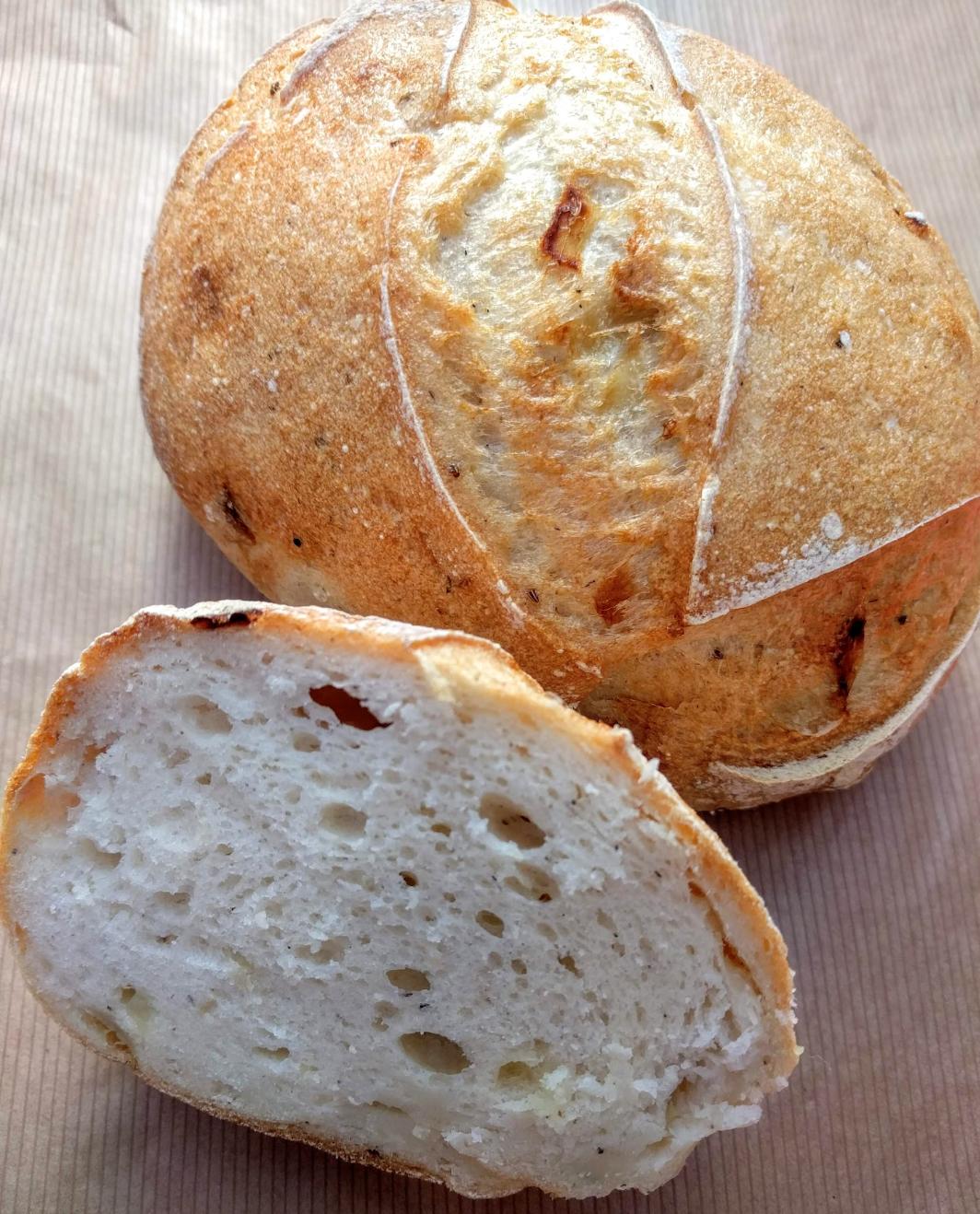 Bezlepkové kváskování - Jak na domácí kváskový chléb krok za krokem (16.2.2019)