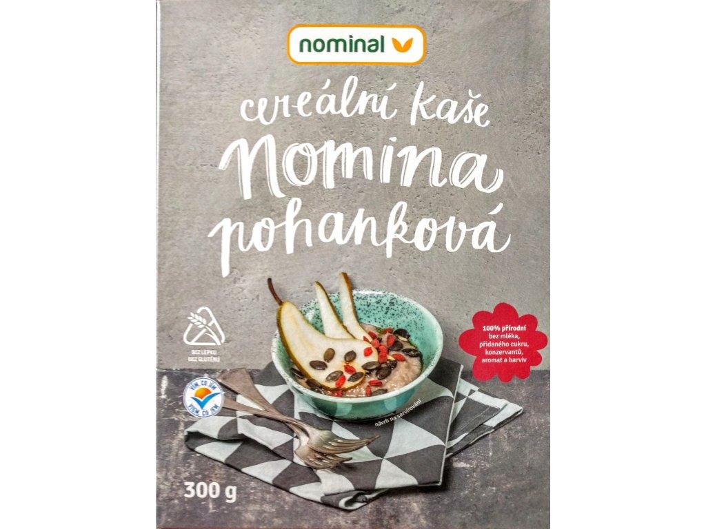 Pohanková kaše instantní bez mléka NOMINAL 300g