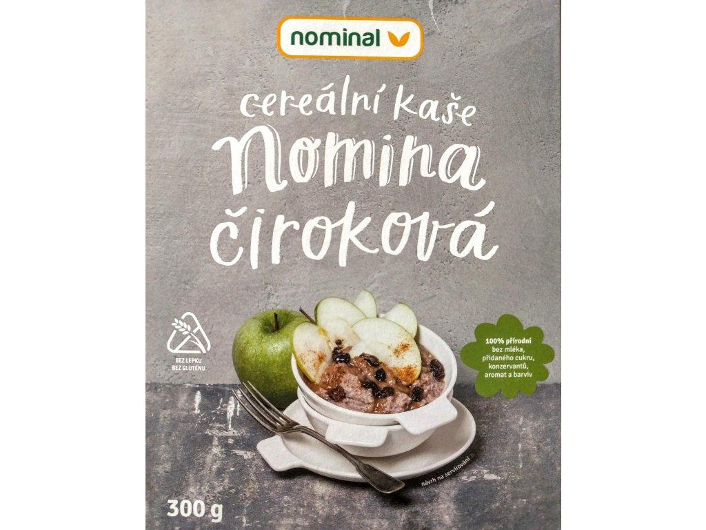 Čiroková kaše instantní bez mléka NOMINAL 300g - trvanlivost do 10.4.2019