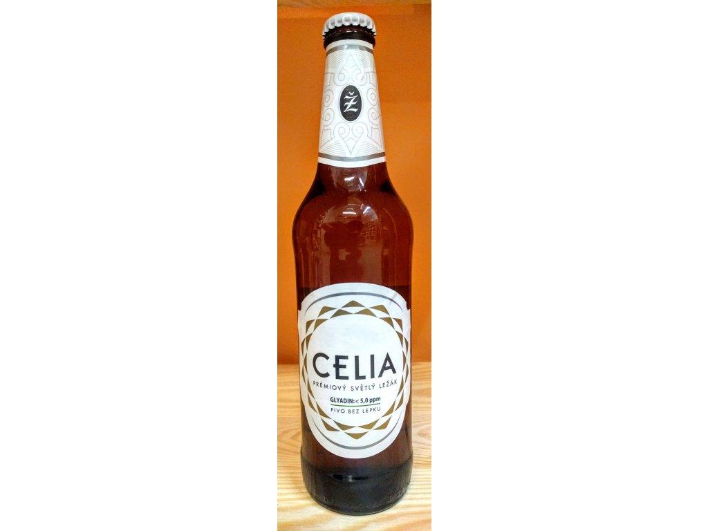 Celia - bezlepkové pivo 500ml