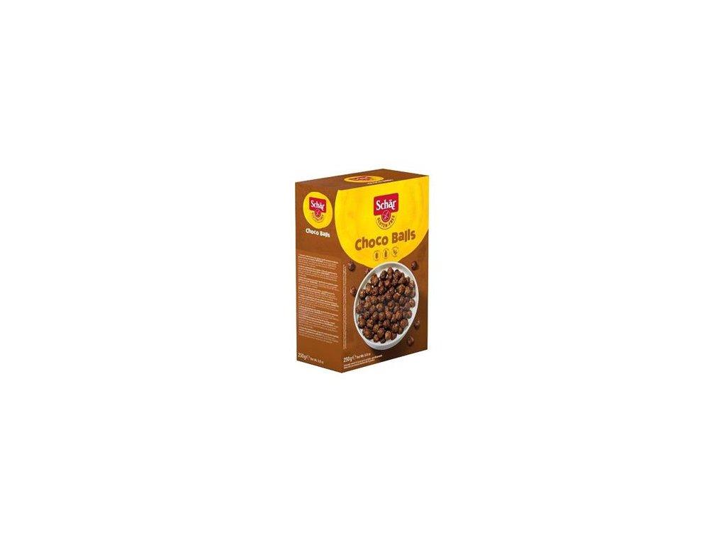 Schär Choco Balls 250g (dřívější název Milly Magic) - bezlepkové čokoládové kuličky