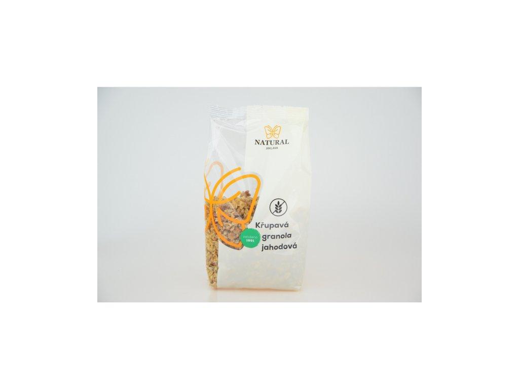 granola křupavá jahoda