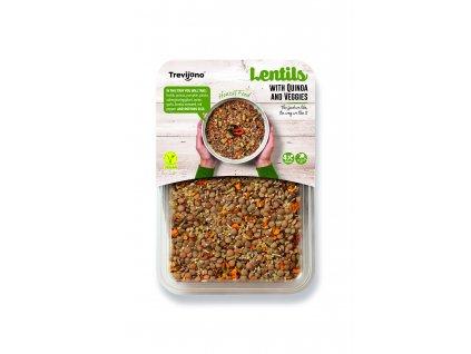 Lentils with Quinoa & Veggies