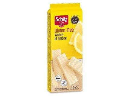 Schär Wafers al limone 125g -  bezlepkové CITRÓNOVÉ vaflové sušenky  125g