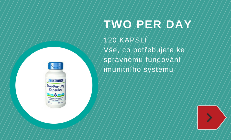 TWO per day
