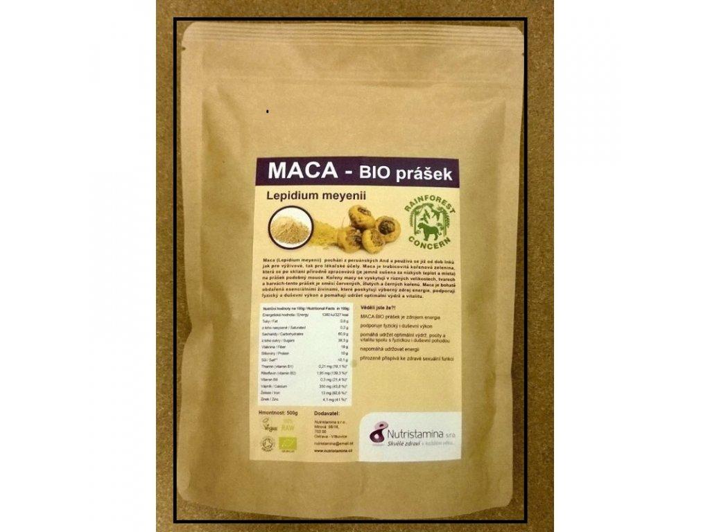 Organic Maca, 500g
