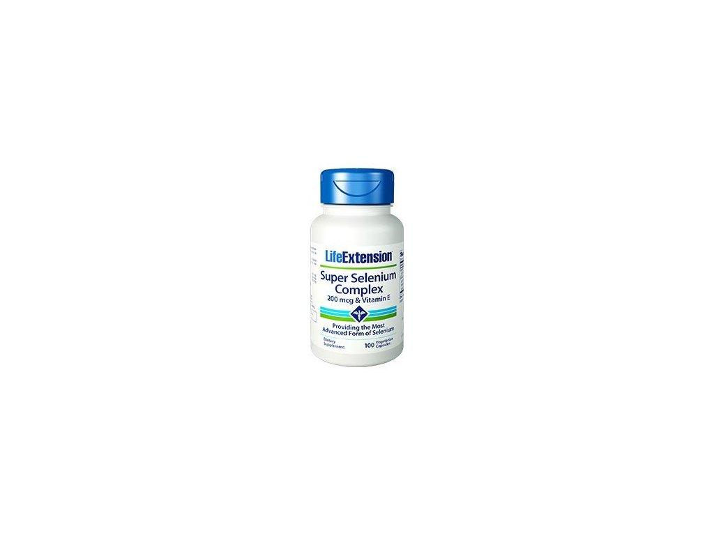 Super Selenium Complex & Vitamin E, 100 kapslí
