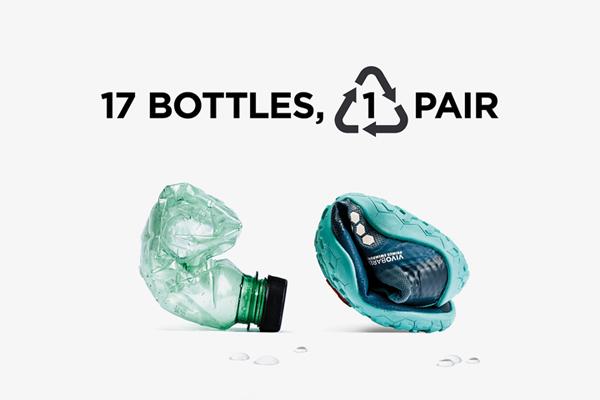 ECO OBUV vyrobena z plastových lahví