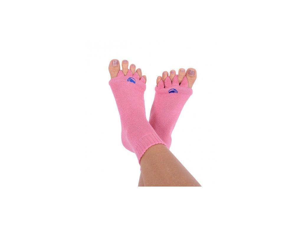 Happy Feet HF05 Adjustační ponožky Pink