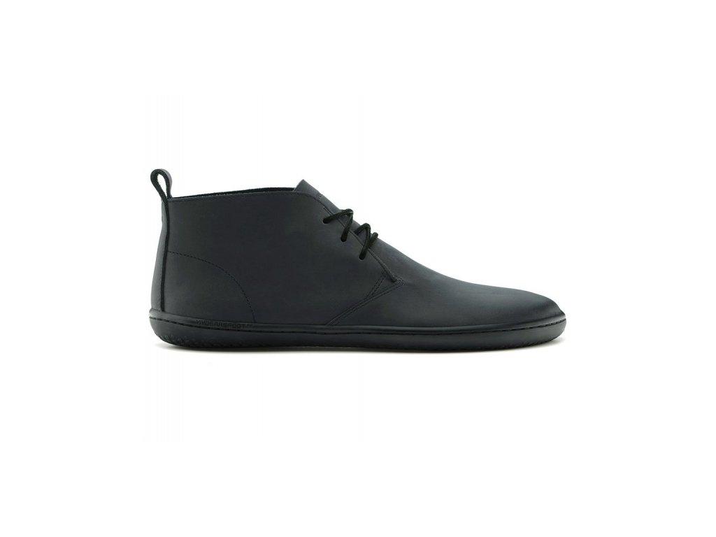 Vivobarefoot GOBI II L Leather Black/Hide