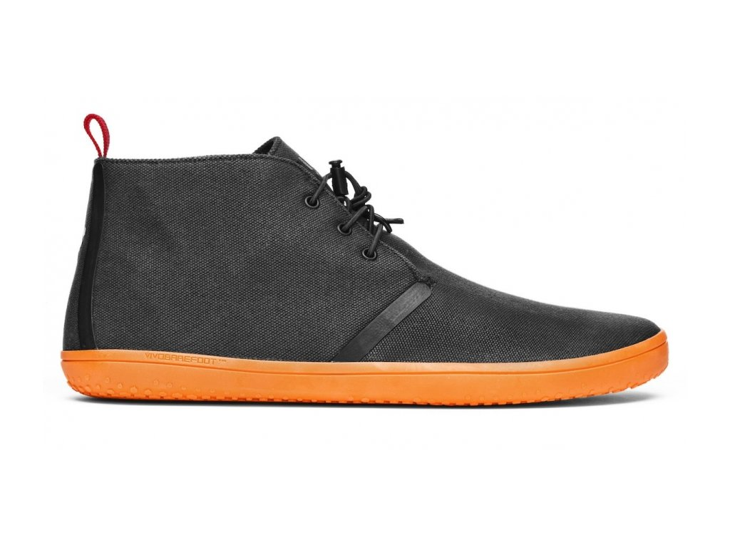 Vivobarefoot GOBI II L Canvas SWR Black/Orange