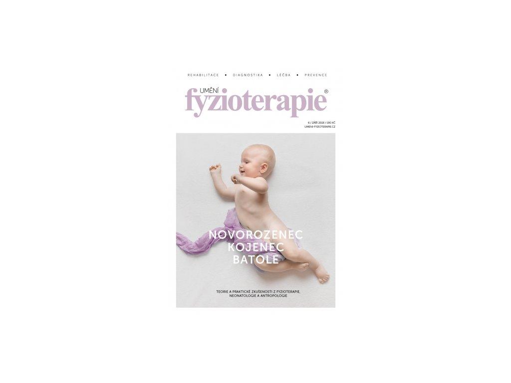 """Časopis Umění fyzioterapie č. 6 """"NOVOROZENEC, KOJENEC, BATOLE"""""""