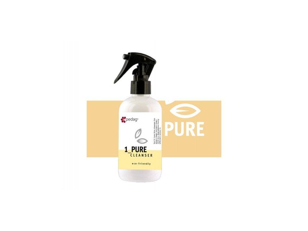 Pedag ECO FRIENDLY PURE CLEANSER 220ml Přírodní čistící mýdlo