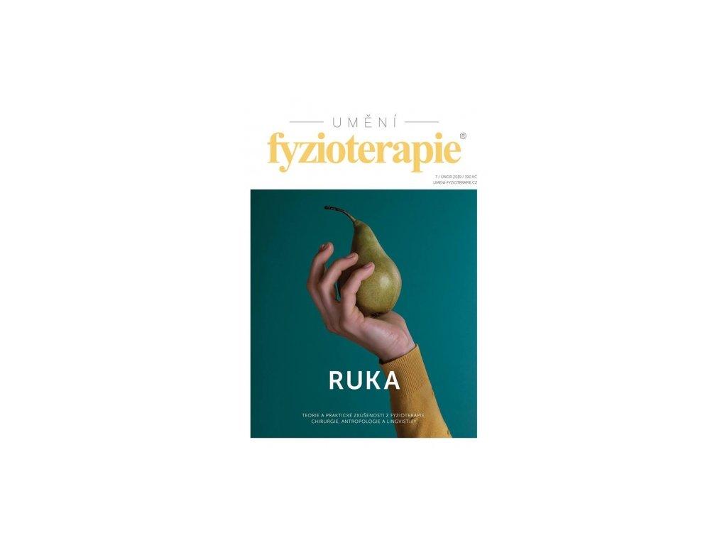 """Časopis Umění fyzioterapie č. 7 """"RUKA"""""""