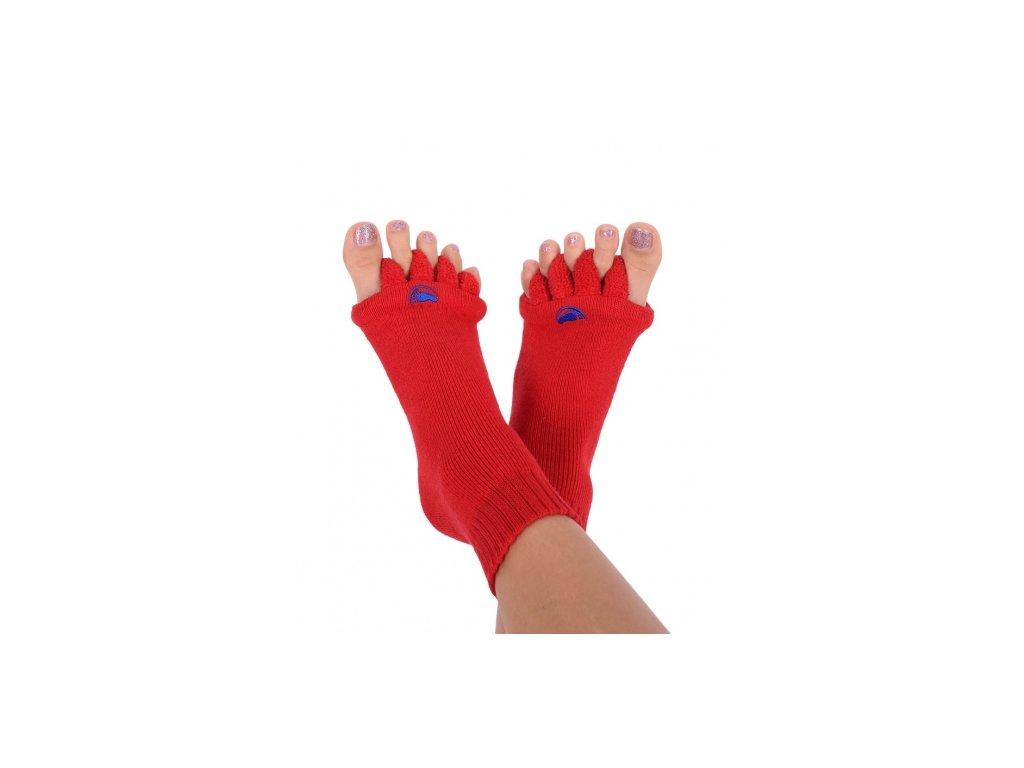Happy Feet HF03 Adjustační ponožky Red