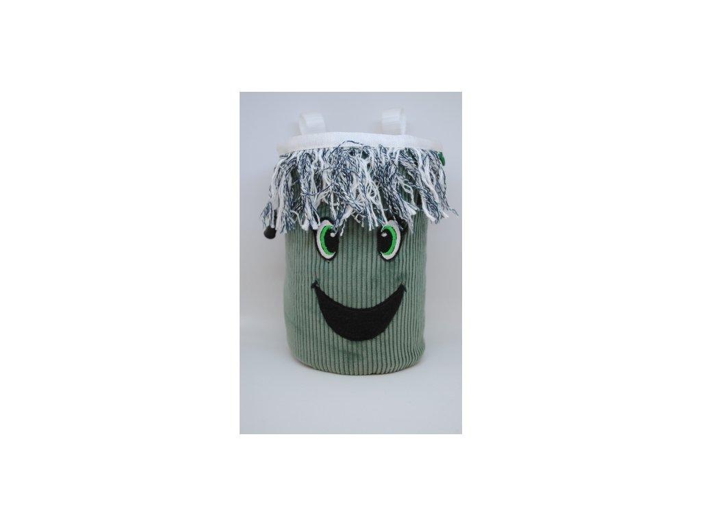 Pytlík na magnézium CLASSIC - zelená očka