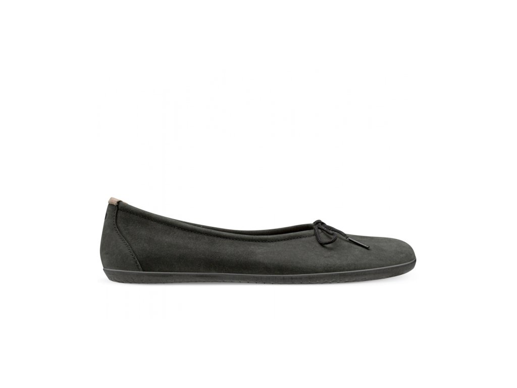 Vivobarefoot JING JING LACE L BLACK LEATHER