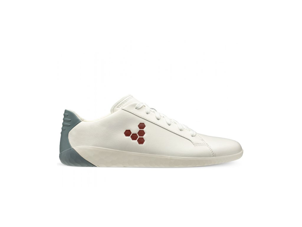 Vivobarefoot GOE COURT M White Blue Red