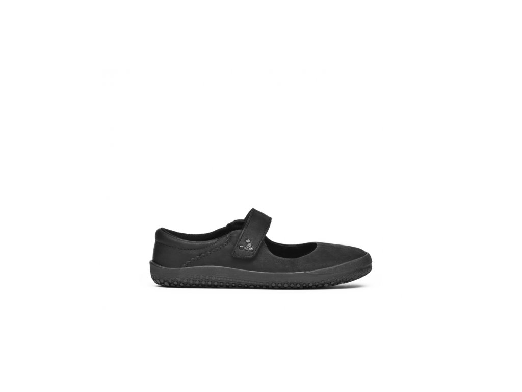 Vivobarefoot WYN J Leather Black/Hide