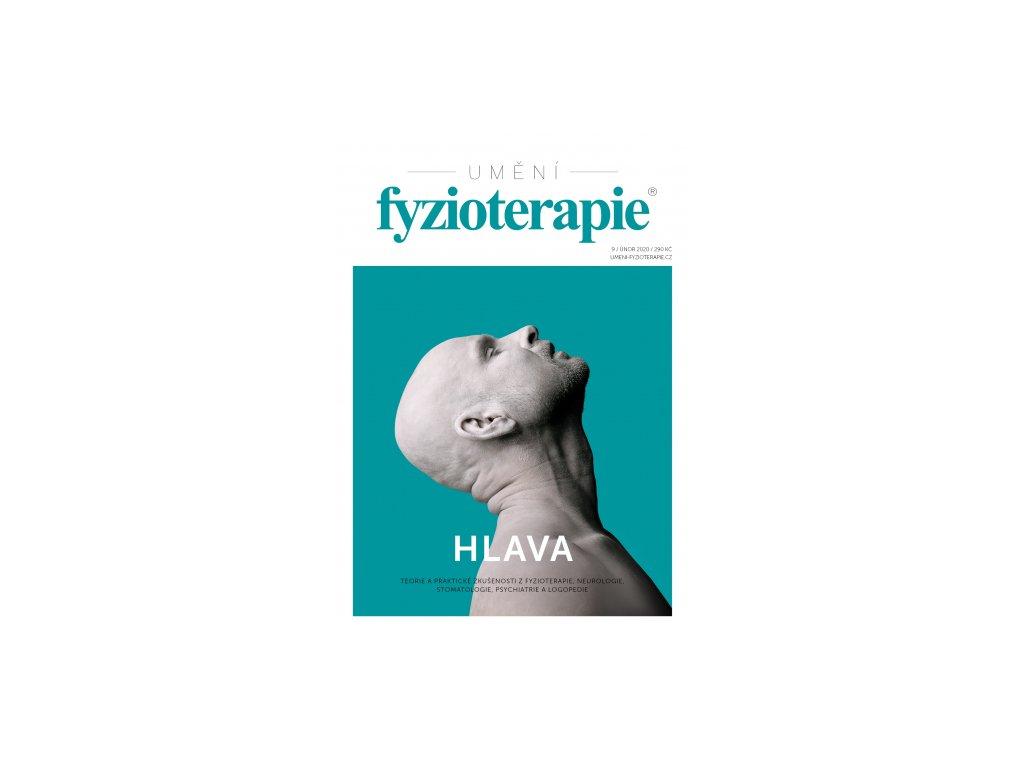 """Časopis Umění fyzioterapie č. 9 """"HLAVA"""""""