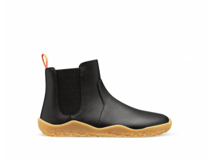 Vivobarefoot FULHAM J Black Leather