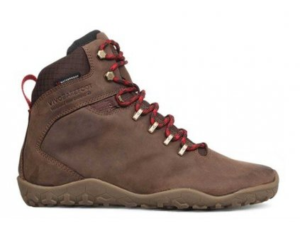 Vivobarefoot TRACKER FG L Leather Dk Brown