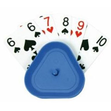 Hrací karty a stojánky na karty