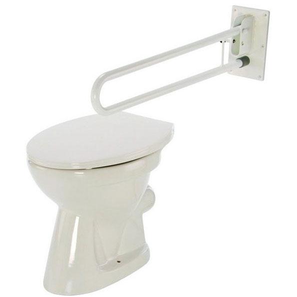 Sklopná madla na WC