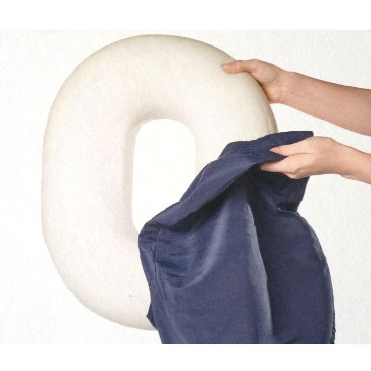 Kruhové polštáře na sezení