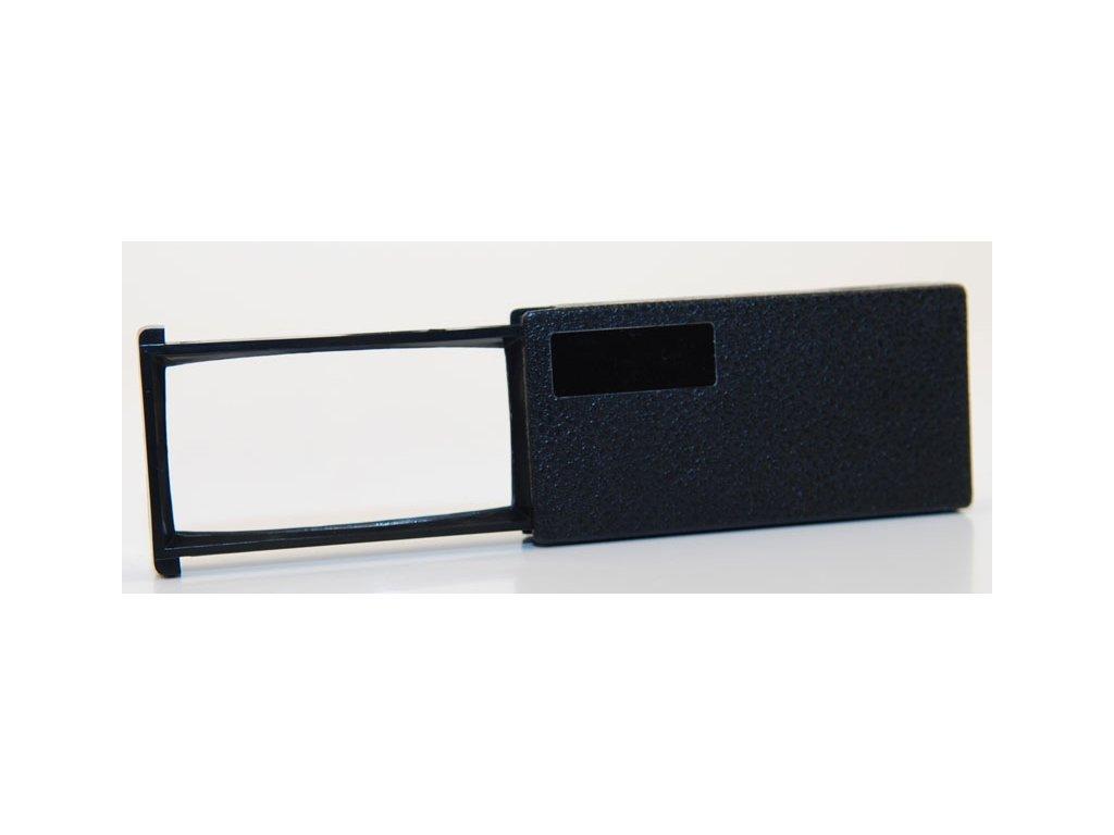 Lupa na čtení vysunovací, 60x30mm, zvětšení 3,5x