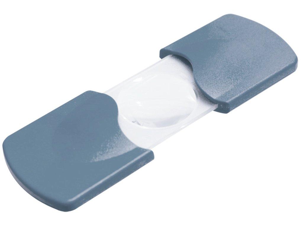 Lupa vysunovací Coil různé barvy, zvětšení 3x