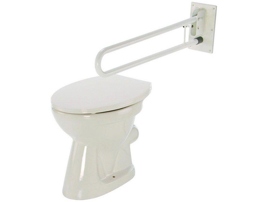 Madlo k WC sklopné se zdvojenou rukojetí - 4230