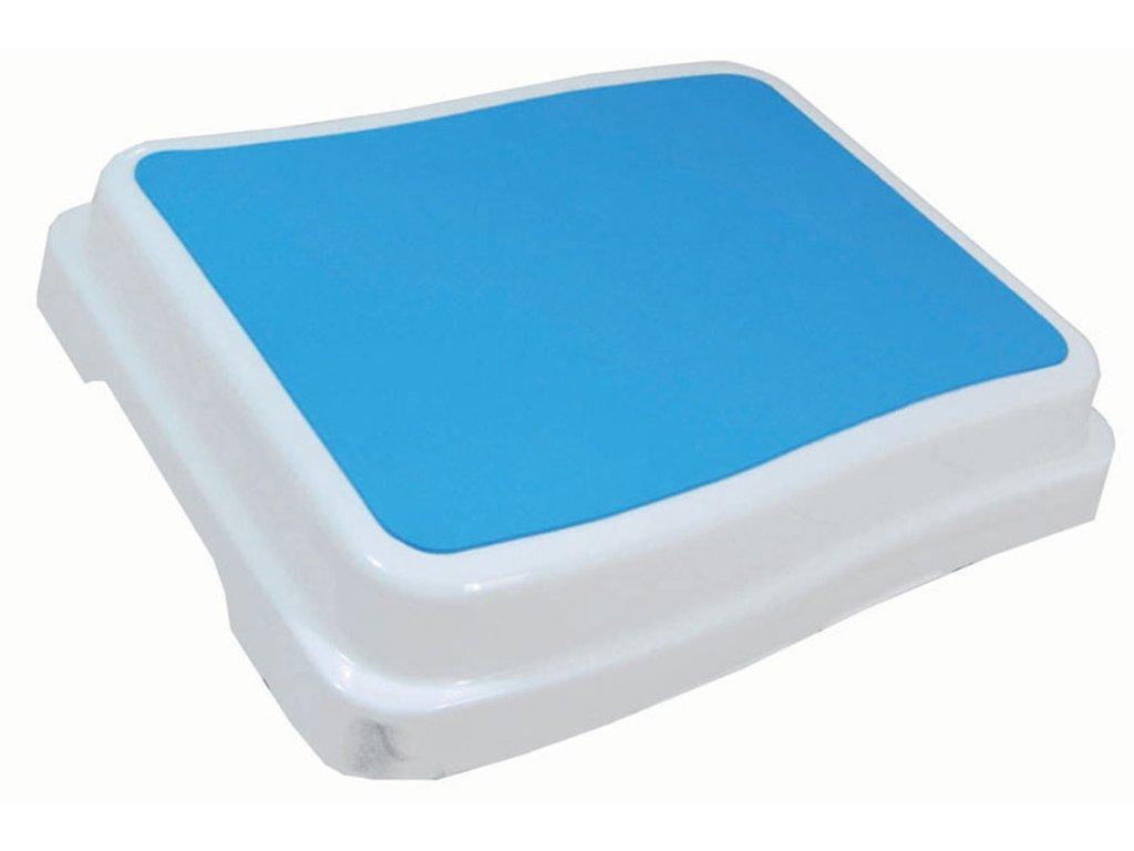 Protiskluzový schůdek / nástavec k vaně pro seniory, 50 x 40 cm, výška 10 cm