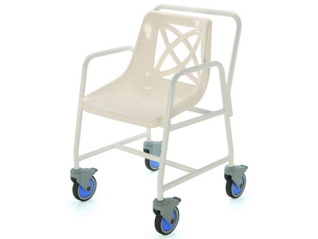 Židle do sprchy pojízdná