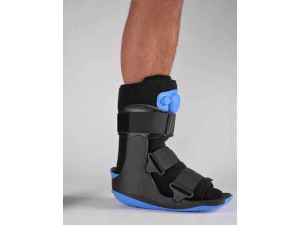 orteza hlezenni pneumatic short walking brace