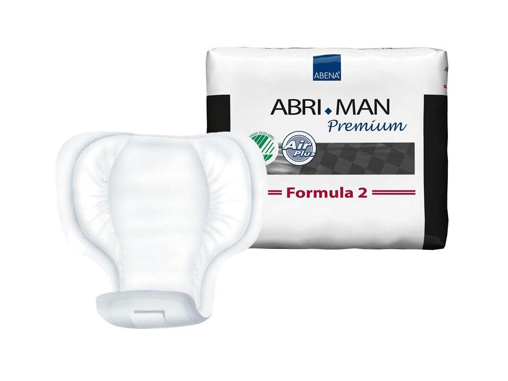Abri Man Formula 2 - inkontinenční vložky pro muže, 14 ks