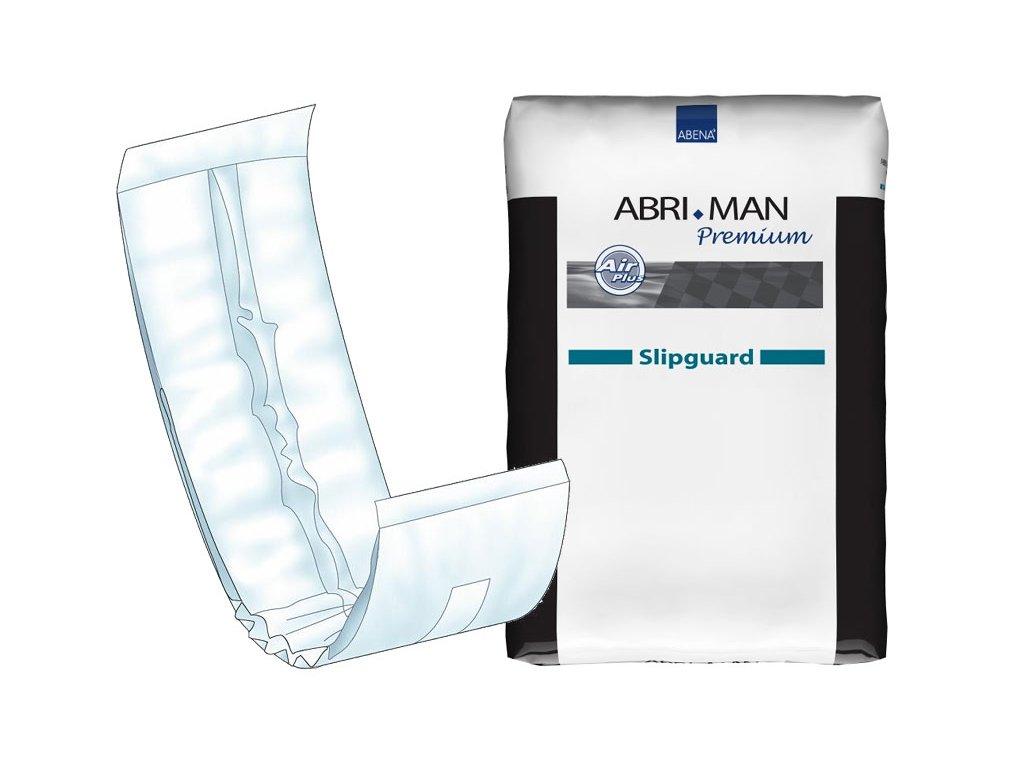 Abri Man Plena - inkontinenční vložná plena pro muže, 20 ks