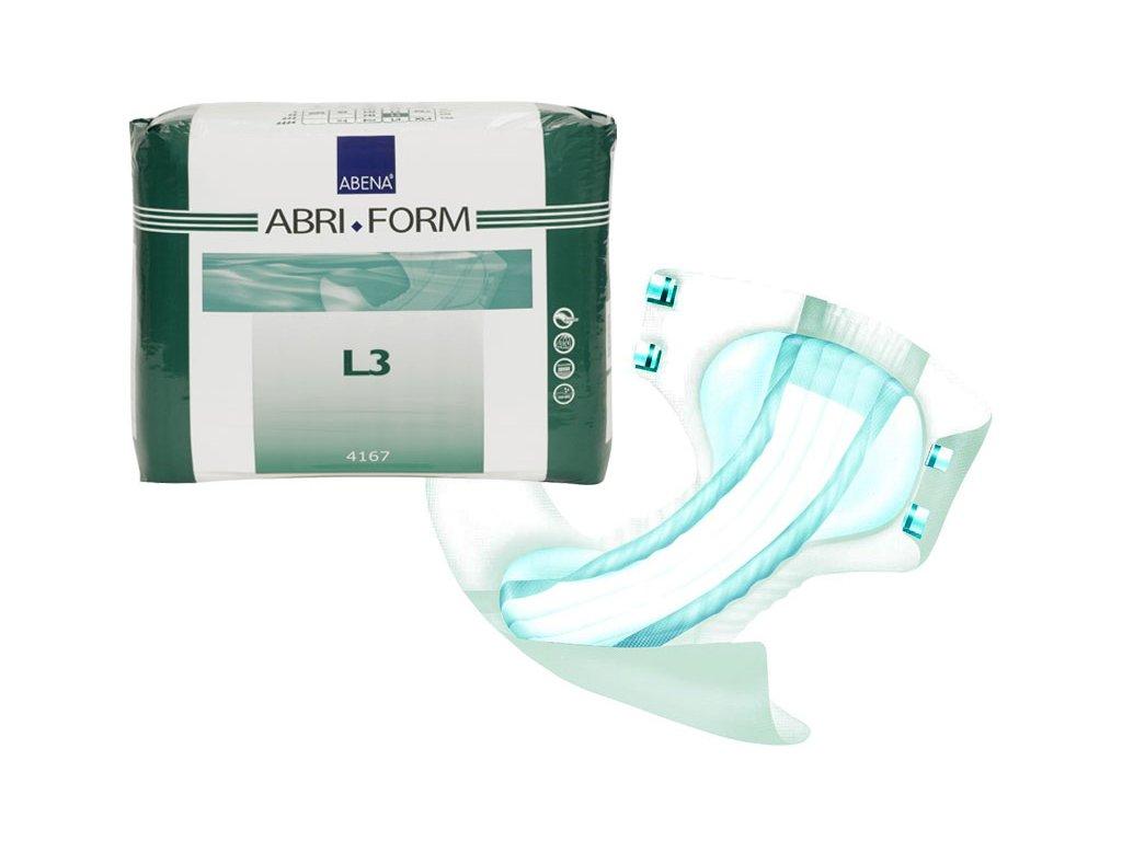 Abri Form 3 - plenkové kalhotky, různé velikosti a balení