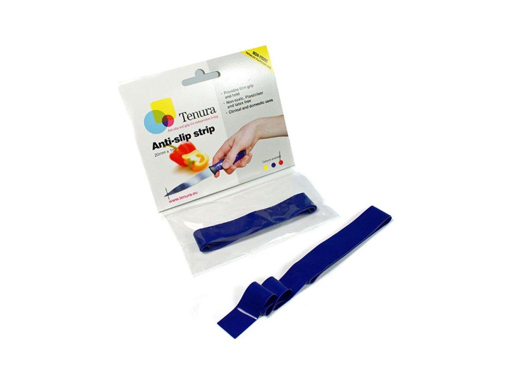 Silikonová protiskluzová páska v roli, 100 x 2 cm - DOPRODEJ