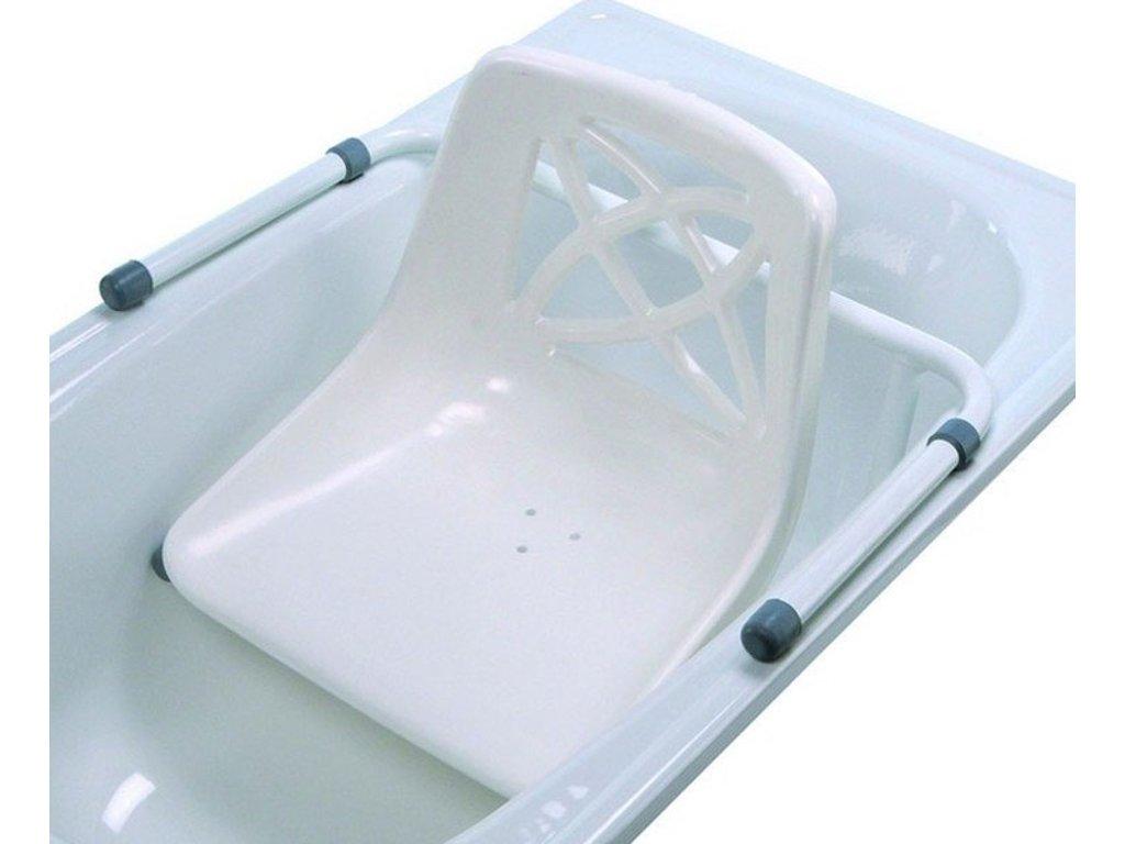 Sedačka do vany závěsná s opěradlem