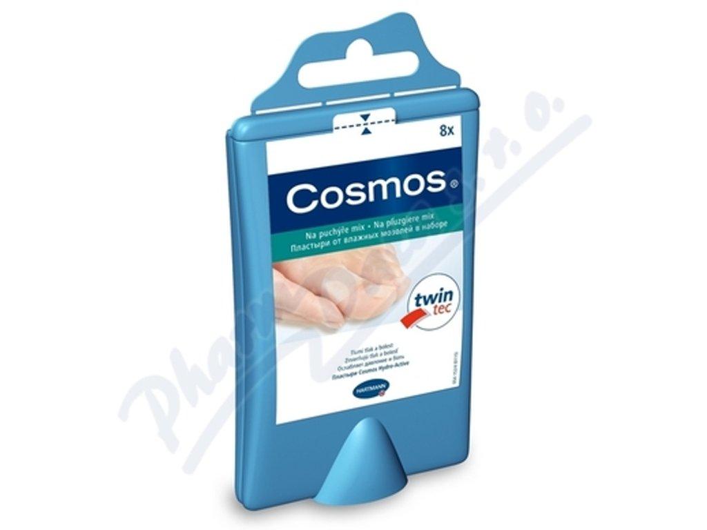 Cosmos - náplasti na puchýře, mix velikostí, 8 ks