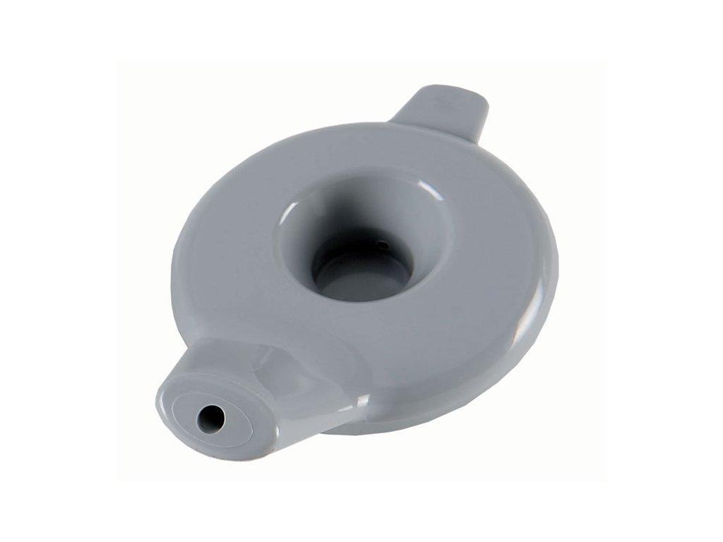 Ergonomické víko s automatickým ventilem,  šedé