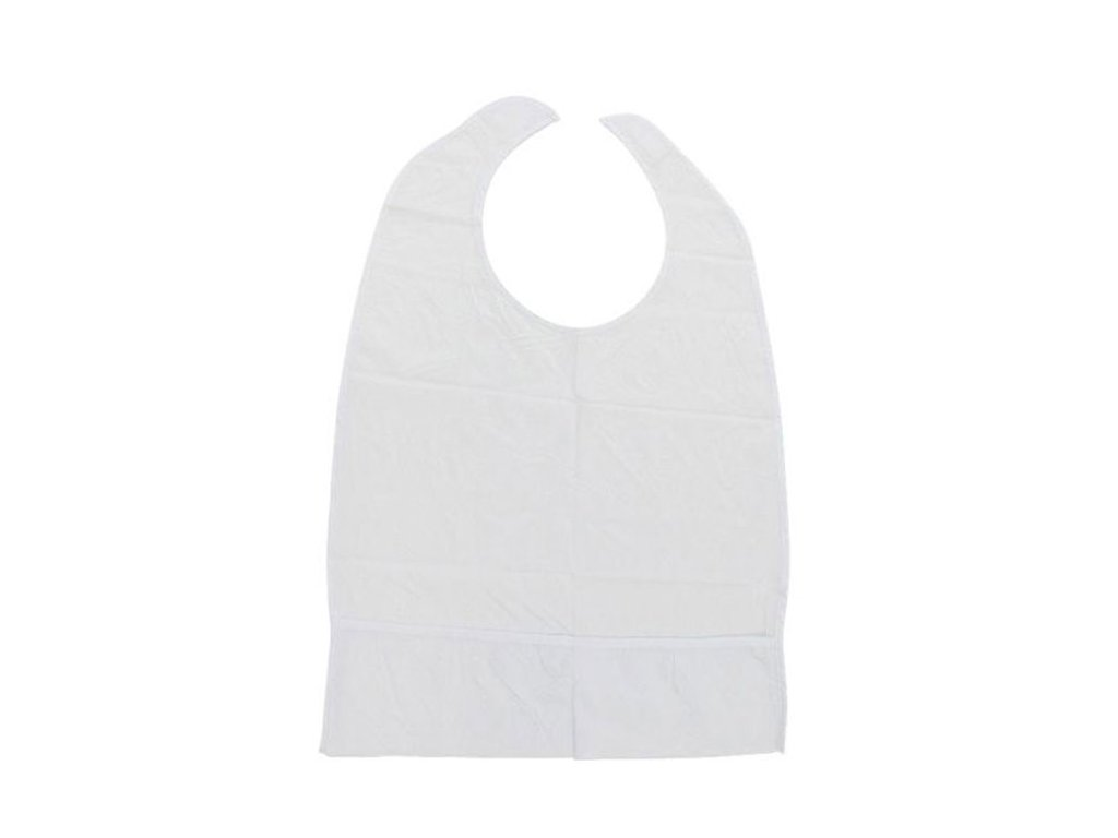 Bryndák pro dospělé z PVC na suchý zip s kapsou , 40 x 60 cm