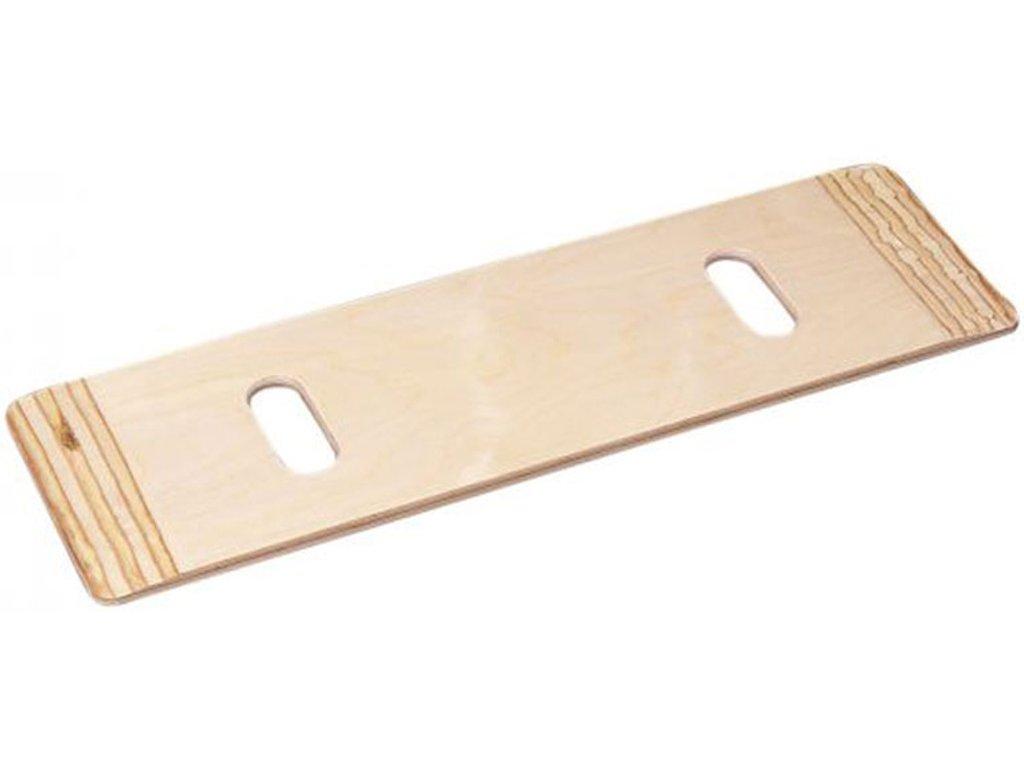 Přesouvací podložka pro vozíčkáře, dřevěná, délka 76 cm