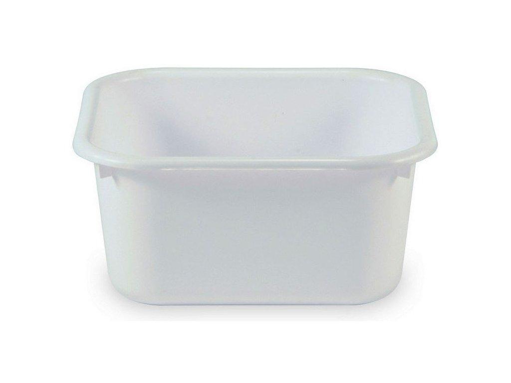 Toaletní nádoba pro klozetová křesla, plastová