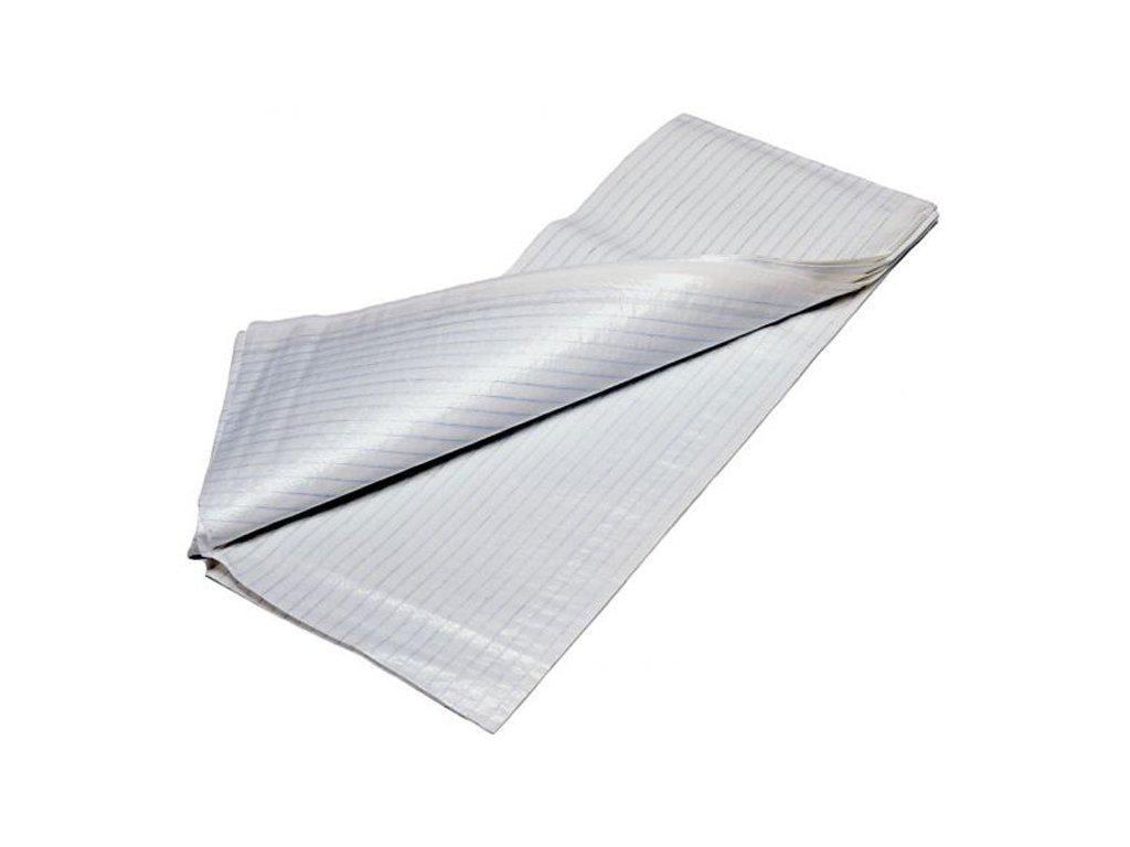 Jednorázové nepropustné prostěradlo, 80 x 210 cm, balení 10 ks - DOPRODEJ