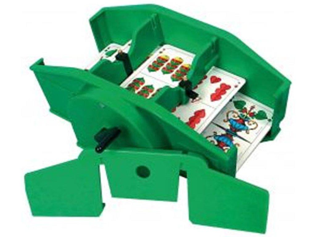 Automatická míchačka karet pro seniory