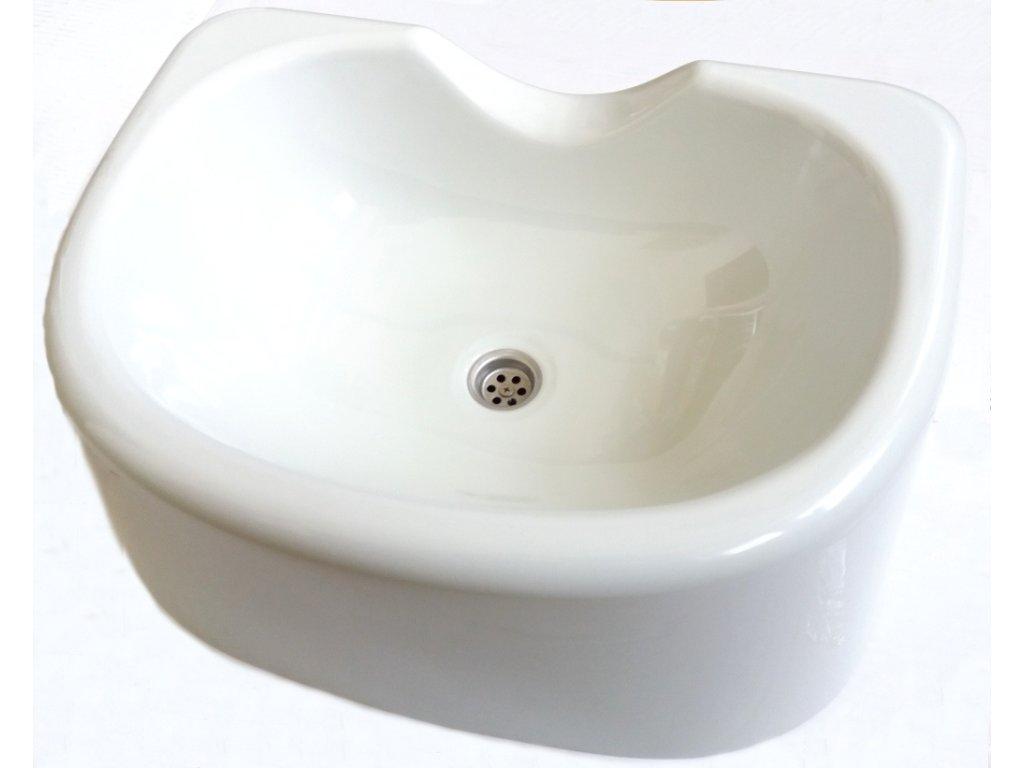 Přenosné plastové umyvadlo na mytí vlasů